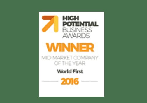 《2016年高潜质商业奬》