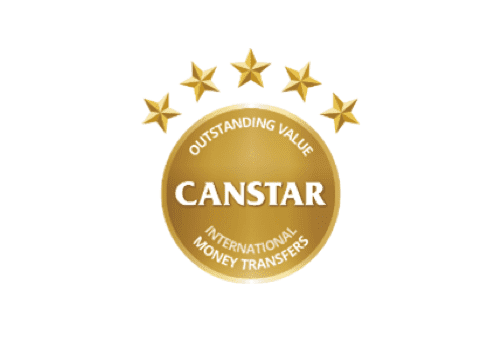 Canstar 杰出价值国际汇款奖